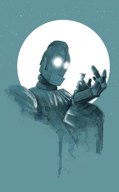 El Gigante de Hierro por John Devlin.