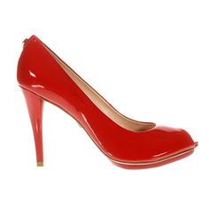 Red Peep Toe | Jorge Bischoff