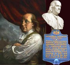 by turns pamphleteer, apprentice, printer, balladeer, inventor, philosopher, politician, soldier, firefighter, ambassador, family man, sage, delegate, signer, shopkeeper, bookseller, cartoonist, grandfather, anti-slavery agitator, Mason, and deist - Benjamin Franklin was all of the above and none of the above