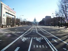 Pennsylvania Ave. in D.C. after its warm-mix repave ahead of Inauguration Day 2013. For more information about warm-mix asphalt, visit http://www.asphaltpavement.org/warmmix
