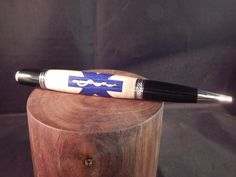 Sierra Twist Ballpoint with EMT Symbol by ProvincialMills on Etsy