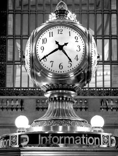 Grand Central Clock, New York