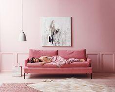 Anna Pirkola - Portfolio. Pink room. Designer & prop stylist.