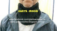 CROCHE, MODA E ACESSÓRIOS by giarts: Maxi Gola Motoka