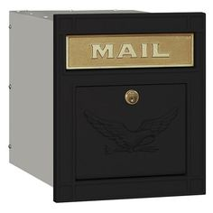 Salsbury Locking Column Mailbox - Mailboxes at Hayneedle