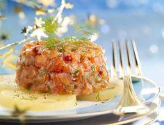 Tartare aux deux saumons à l'anethVoir la recette du Tartare aux deux saumons à l'aneth