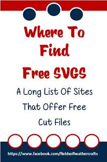 Where To Find Free Cut Files For Cricut Or Silhouette Machines - Another List From Crafting With Fields Of Heather. Cricut Vinyl, Cricut Air, Cricut Craft Room, Cricut Fonts, Free Svg Fonts, Free Fonts For Cricut, Cricut Svg Files Free, Free Svg Cut Files, Inkscape Tutorials