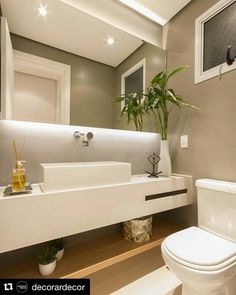 #Repost @decorardecor (@get_repost)  #decorardecor |Menino me conta o que é esse lavabo  Lindooooo!  ㅤ  Projeto: @luniarquitetura ㅤ ... ㅤ  Inspirações? Confira  @arquiteturaz  ㅤ ... ㅤ  Use nossa # (hastag) e apareça aqui!  #interiordesign #bathroomideas #shower #bathroom #bath #iginteriors
