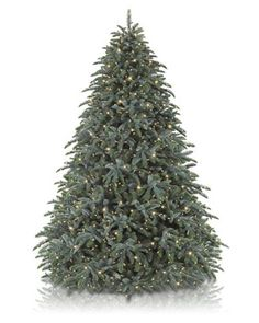 Pre-lit Artificial Christmas Trees with Clear Lights | Balsam Hill  $800