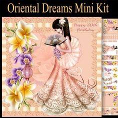 Oriental Dreams Mini Card Kit