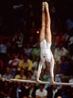 Romania's Nadia Comaneci competes in a gymnastics event at the 1976 Summer Olympic games in Montreal. (CP Photo/COA/RW)