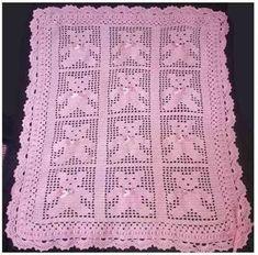 New crochet heart blanket ripple afghan Ideas Crochet Heart Blanket, Crochet Ripple, Baby Afghan Crochet, Crochet Teddy, Crochet Bebe, Filet Crochet, Crochet Blanket Patterns, Baby Patterns, Crochet Squares Afghan