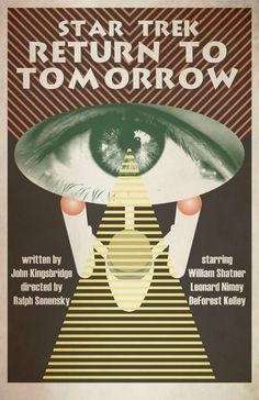 """The Juan Ortiz Original Series Art Prints  """"Return to Tomorrow"""""""