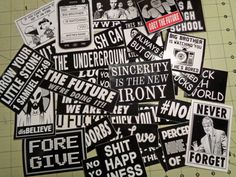 Vinyl Sticker Super Pack  All The Stickers by GodBlessGenerica