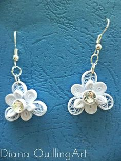 Quilling examples - Jewelry / Earrings