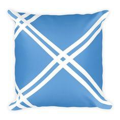 Blue Diagonal Stripe