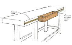 sliding workbench box - Google Search