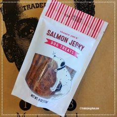 Trader Joe's Salmon Jerky Dog Treats $3.99  | #TraderJoes #Smokedsalmon #jerky #DogTreats #トレジョ #トレーダージョーズ #犬のおやつ #犬
