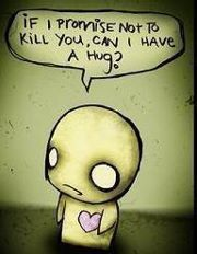 If I promise not to kill you...