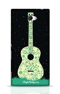 Guitar Sony Xperia M2 Phone Case