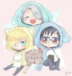 Viktor ☆ Yuri ☆ Yurio