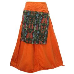 Women's Apron Overlay Drawstring Hem with Pocket-back Cotton Skirt >>> This is an Amazon Affiliate link. Want additional info? Click on the image.