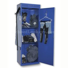 Hockey lockers for sale! These unique lockers provide simple, convenient and organized units to dry out all of your family's hockey gear. Players will love the locker's 45- or 90-minute drying/warming options either after a game or before they head for the arena. Perfect for locker rooms, garages or basements!