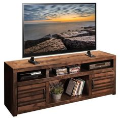 legends furniture sausalito 73 in tv stand with optional piers legends furniture tv stand