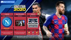 Dream League Soccer 2020 Amazing New Messi & Ronaldo Edition For Android Juventus Team, Barcelona Team, Challenge Cup, Messi And Ronaldo, Play Hacks, Player Card, Splash Screen, Gaming Tips, All Team