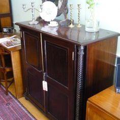 Rosewood Linen Cabinet