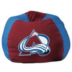 NHL Bean Bag Chair Team Colorado Avalanche