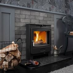 Solution 5 Inset (S4) Inset Stoves, Solid Fuel Stove, Wood Fuel, Seasoned Wood, Cosy, Home Appliances, Tools, Home Decor