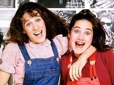 Square Pegs...we all loved SJP in SATC, but who remembers her in this 80s show?!