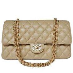 Chanel Sacs à main de 2.55 à bandoulière épaule kaki Goldzipper CCS302,sac  chanel pas b79d7e0dbbb