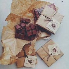 What a beautiful way to package chocolate! all-good-and-perfect-things: Lviv Handmade Chocolate