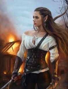 Fantasy art women queens elves 62 Ideas for 2019 Fantasy Warrior, Fantasy Girl, Foto Fantasy, Fantasy Art Women, Elves Fantasy, Fantasy Fairies, Elfa, Fantasy Artwork, Character Portraits