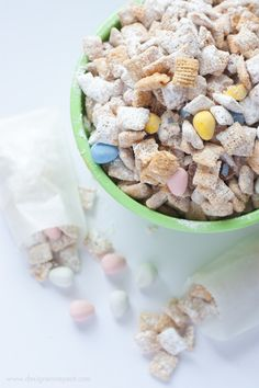 White Chocolate Puppy Chow with Mini Eggs | Community Post: 16 Cadbury Mini Egg Recipes Just In Time For Spring