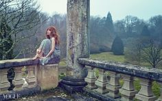 Yoon Eun Hye in a dreamy fairy forest in springtime - VOGUE.co.kr
