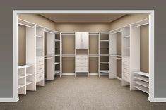 Closet Maid Master Closet designed by OrganizationalSpecialists.com: