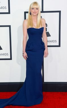 Anna Faris from 2014 Grammys: Red Carpet Arrivals | E! Online