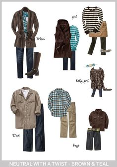 What To Wear In Family Photos | Tina Adams Wardrobe Consulting
