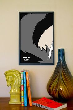 Lord+Monochromicorn+//+Adventure+Time+Minimalist+by+TheGeekerie,+$18.00