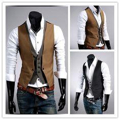 quality design d76ce 38d77 Vest, Style, Mens Fashion, Men s Clothing, Camel, Slim, Swag,