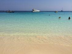 The most amazing beach I've swam in so far. Aspronisi is located near Lipso Island, Cyclades, Greece.