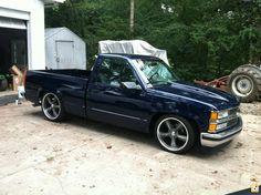 Custom Chevy Trucks, Chevy Pickup Trucks, Classic Chevy Trucks, Gm Trucks, Chevy Pickups, Cool Trucks, Chevrolet Silverado, Chevrolet Trucks, Dropped Trucks