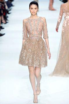 Elie Saab Spring 2012 Couture Fashion Show - Sui He (OUI)