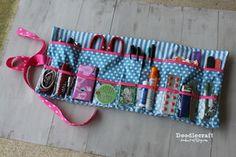 glove box roll up storage supply emergency first aid survival kit easy sewing diy zipper bag (1).JPG