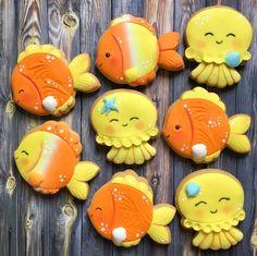 Frog Cookies, Shark Cookies, Fondant Cookies, Fancy Cookies, Iced Cookies, Cute Cookies, Royal Icing Cookies, Cupcake Cookies, Princess Cookies