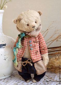 Мишки Тедди ручной работы: Марсель. Handmade.