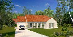 - Modèle : Unik / 3 chambres /  101m² Nord Loire  - Cette maison actuelle et familiale offre un aménagement fonctionnel pour que chaque membre de la famille ait son propre espace de vie. #maison #maisons #home #frenchhouse #construction #maisonspierre